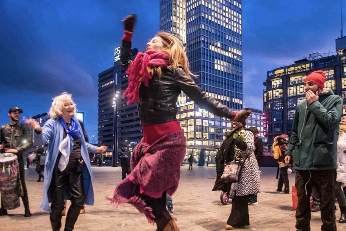 Rotterdan Leeft, Rotterdam CS, Evenement